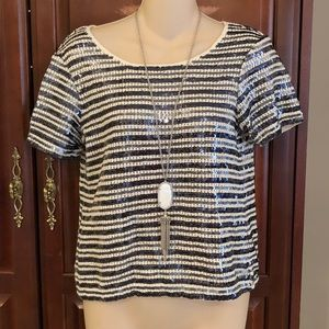 Chico's size 0 gorgeous sequined top